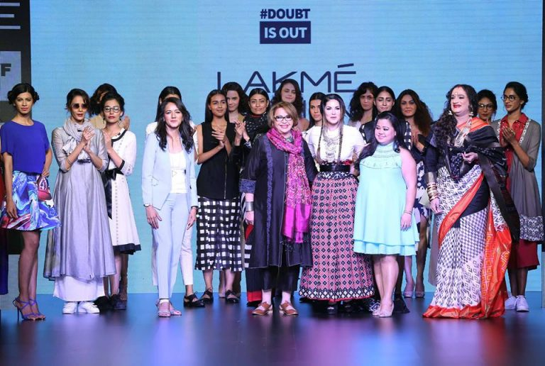 Lakme Fashion week 2016 in India.