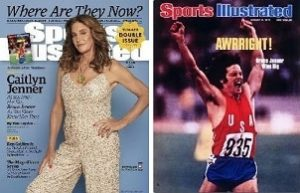 cailtlyn jenner jaar 40 geleden sport illustrated