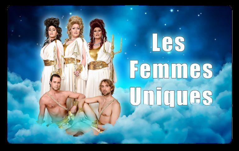 Spektakel show C'est la vie van Les Femmes Uniques