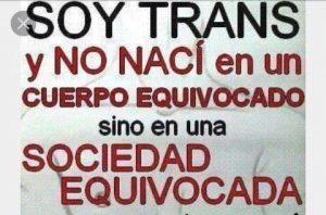 Ik ben trans, ik ben niet in een verkeerd lichaam geboren. Maar in een verkeerde maatschappij