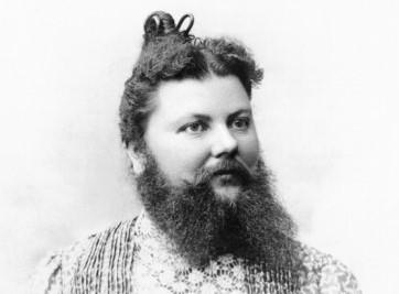 Clémentine Delait vrouw met baard