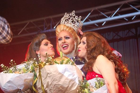 Miss Stephany wint Miss Travestie België 2017