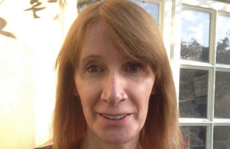 Transgender vrouw Philippa York geeft commentaar bij  ITV Cycling