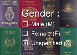 Canada maakt 'x' op paspoort mogelijk