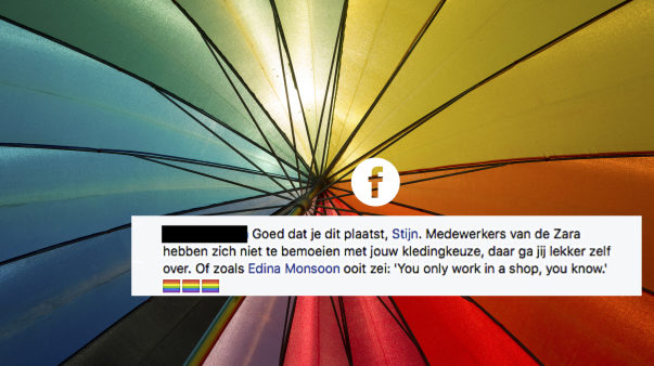 Bredanaar (17) doet aangifte tegen Zara: 'Ik maak zelf uit of ik vrouwenkleren koop'