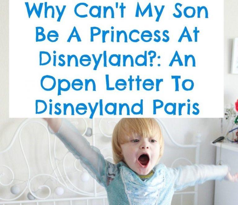 Disneyland zegt sorry: natúúrlijk mogen ook jongetjes prinses zijn