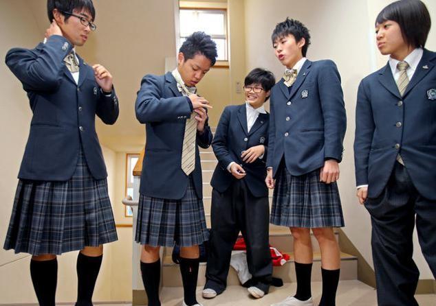 Japanse school introduceert gender neutraal uniform