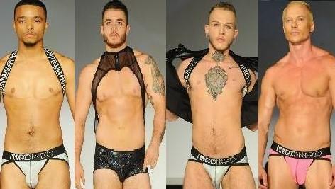 Transgender modellen presenteren collectie 'Seven' op New York Fashion Week
